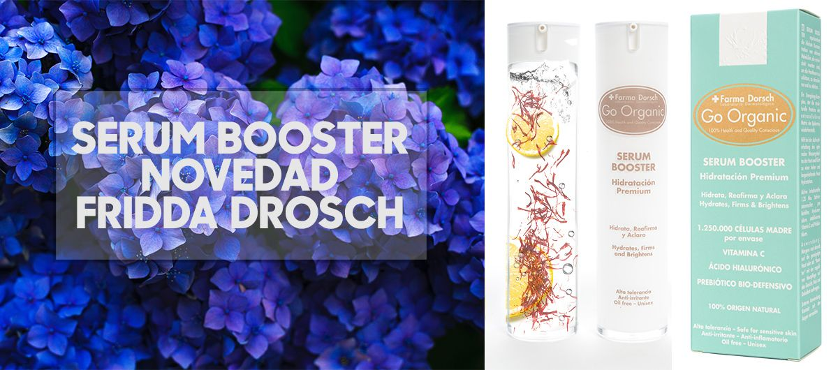 Fridda Dorsch   Damos la bienvenida a Serum Booster, el nuevo producto FRIDDA DORSCH