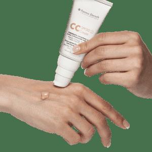 CC Cream. Hidratante SPF 50 con Color