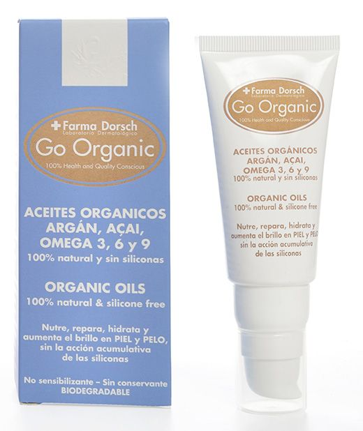 aceites orgánicos Go Organic fridda dorsch