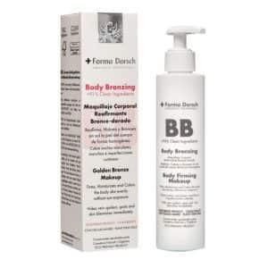 Body bronzing makeup